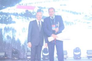 Андрей Назаров вручил кубки победителям конкурса Премии Правительства РБ в области качества